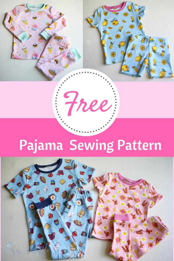 Free Movie Night Pajamas Free Sewing Patterns Pinterest Sewing