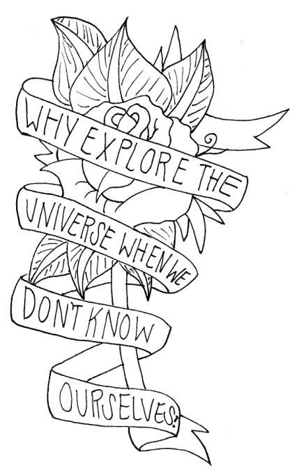 Bring Me The Horizon Logo Coloring Pages