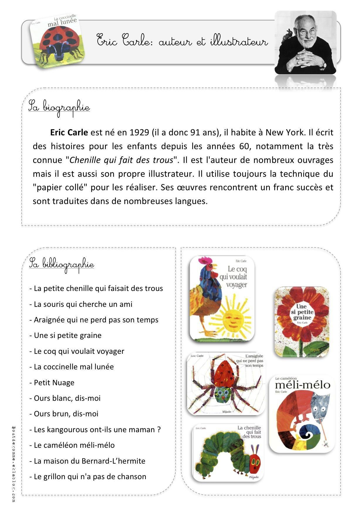 Souvent La coccinelle mal lunée d'Eric Carle - Bout de gomme | Album  UZ54