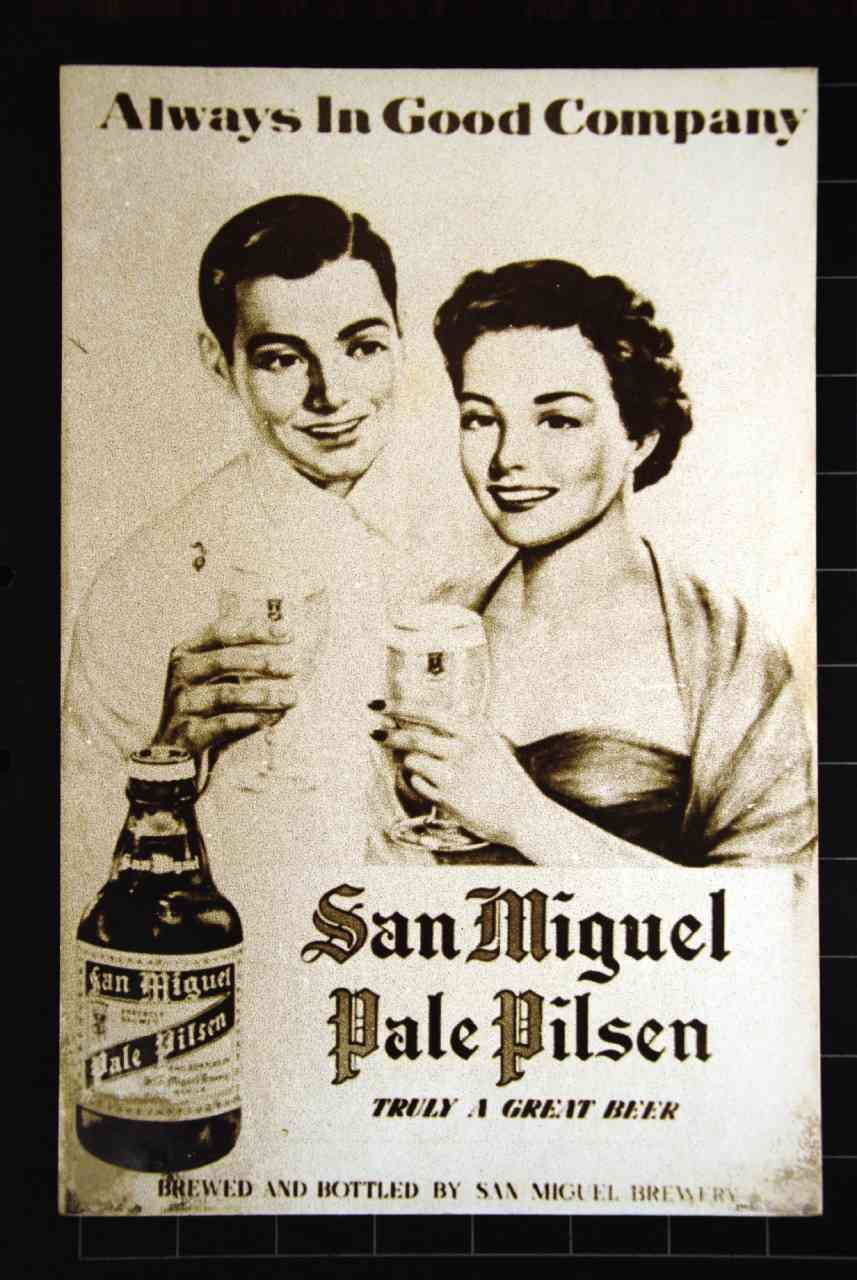 MANY of the old San Miguel print ads chronicled the prevailing ...