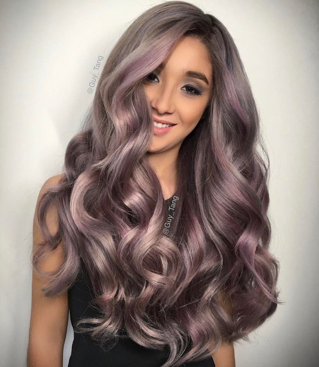 Guy Tang Hairbesties Can You Believe This Girl Is 13 Years Old She Is One Of My Models From Chile During My Tour With Olaplex She Has So Much Har Og Skonhed