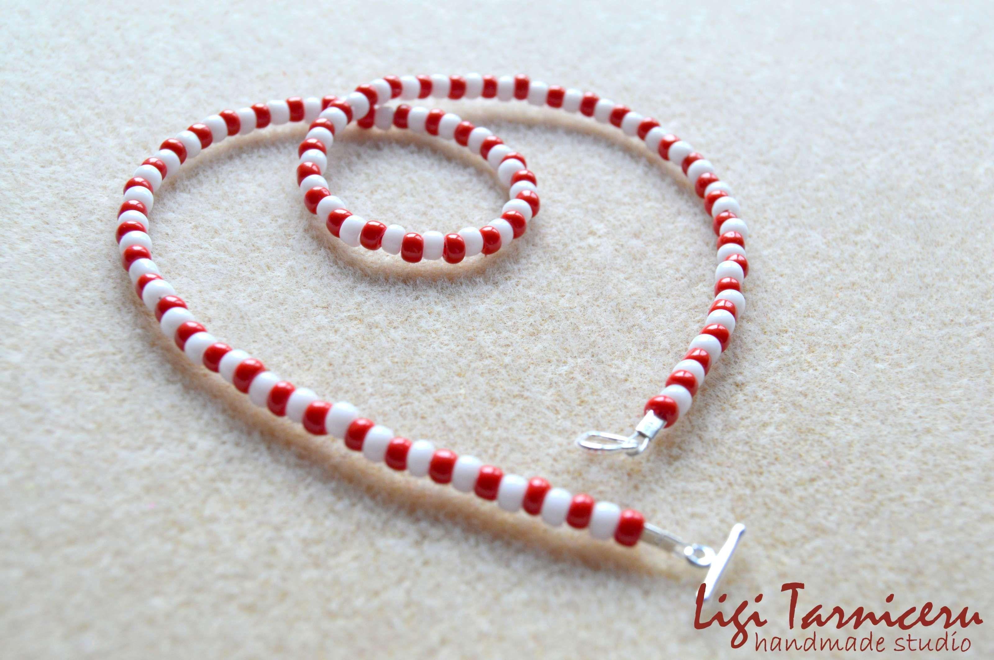 Toho beads necklace for girls