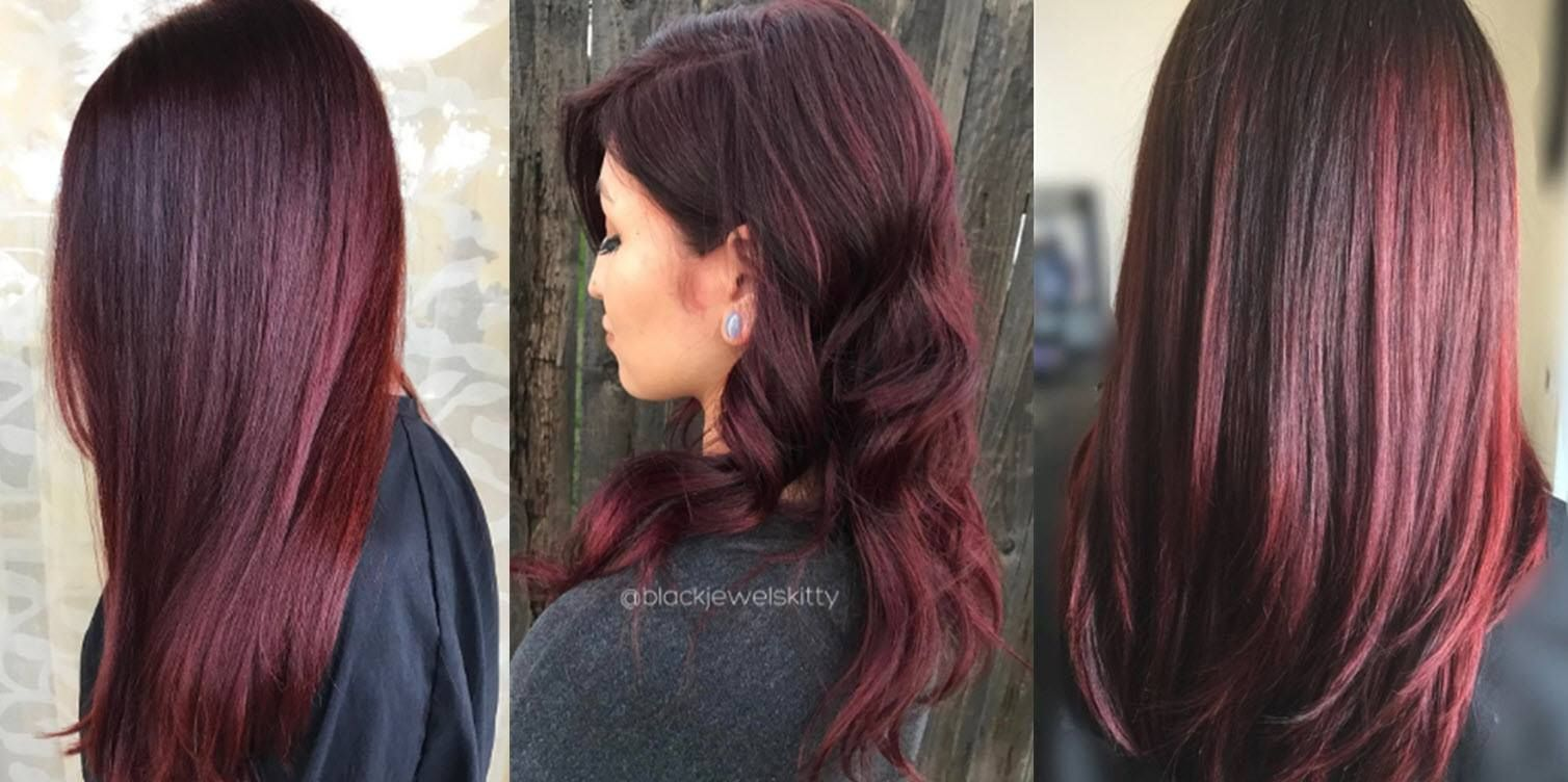 Is Burgundy Hair Color Right For You Pale Skin Hair Color