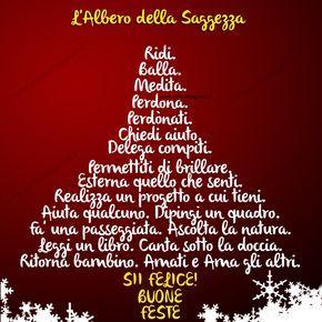 Buon Natale Albero Di Saggezza Frasi Auguri Natale