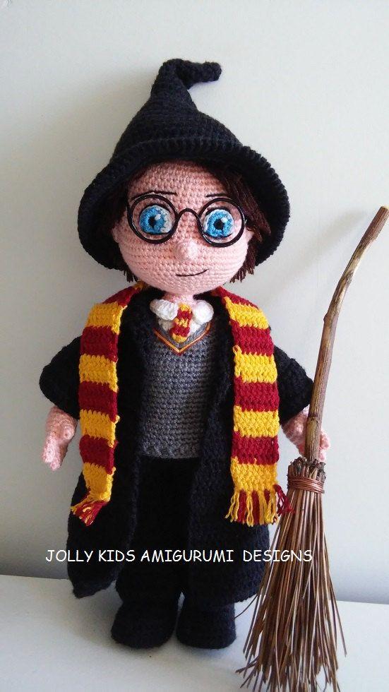Asistente para niño-Amigurumi Crochet por ArzuAmigurumiDesigns ...