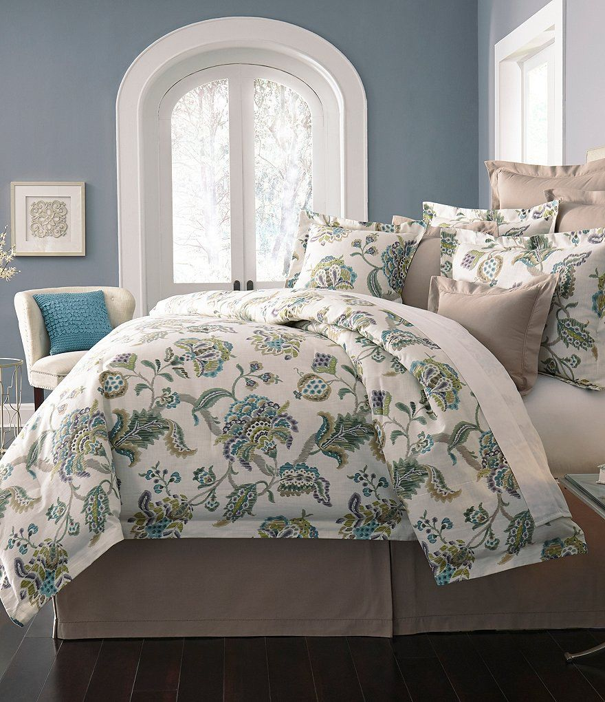 Villa By Noble Excellence Orianna Ikat Floral Comforter