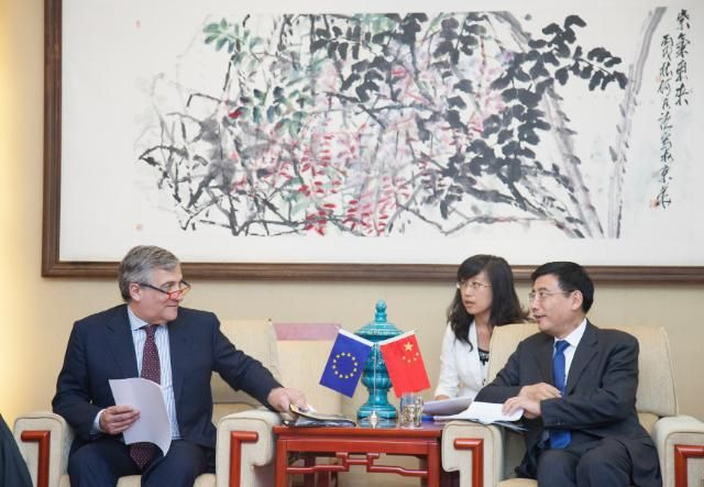 China Hopes Eu Commissioner De Gucht Drops Super Anti Dumping Tariff On Solar Panels Painting Affair Art