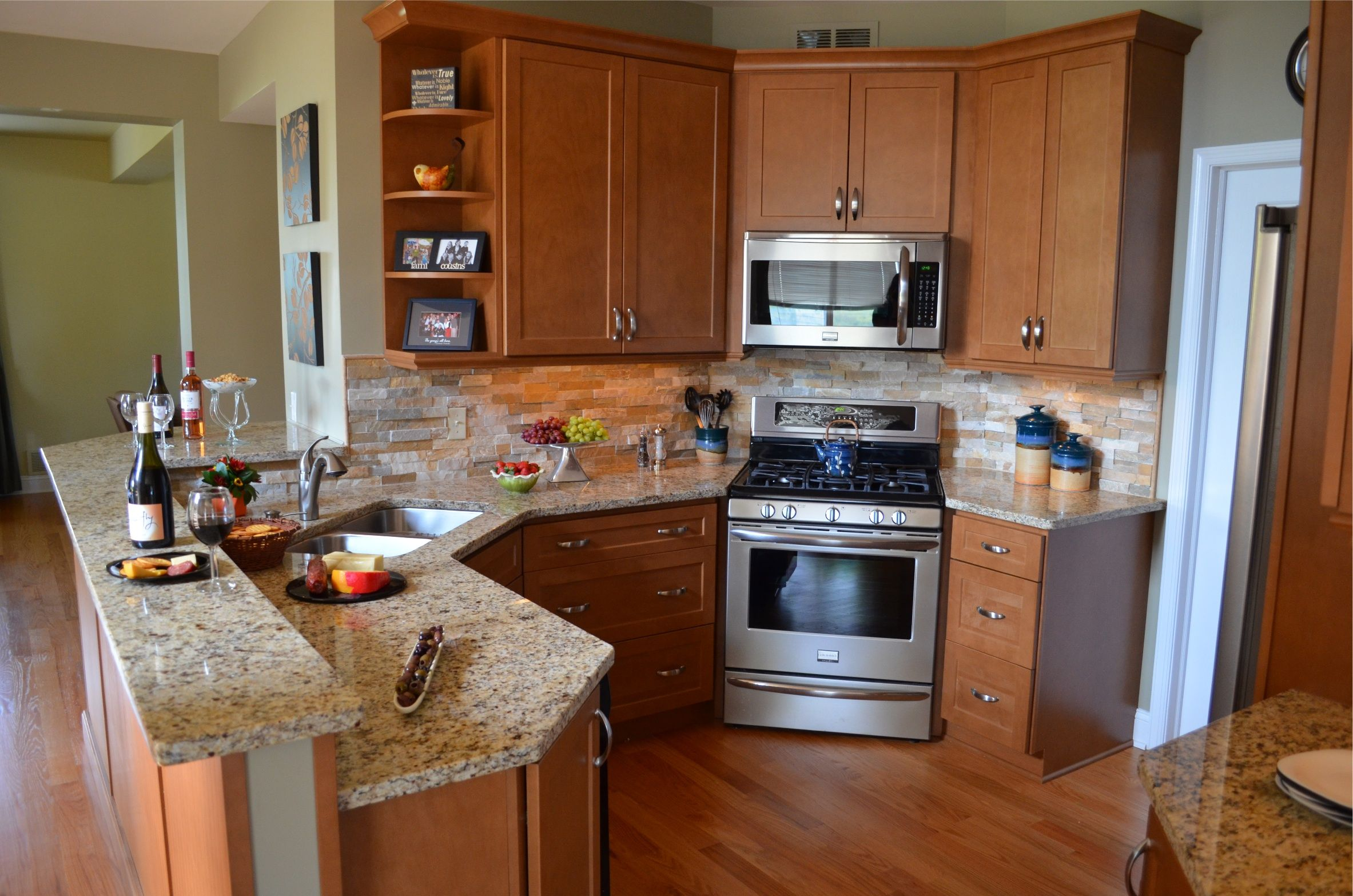 Help with my kitchen design! - Kitchens Forum - GardenWeb corner ...