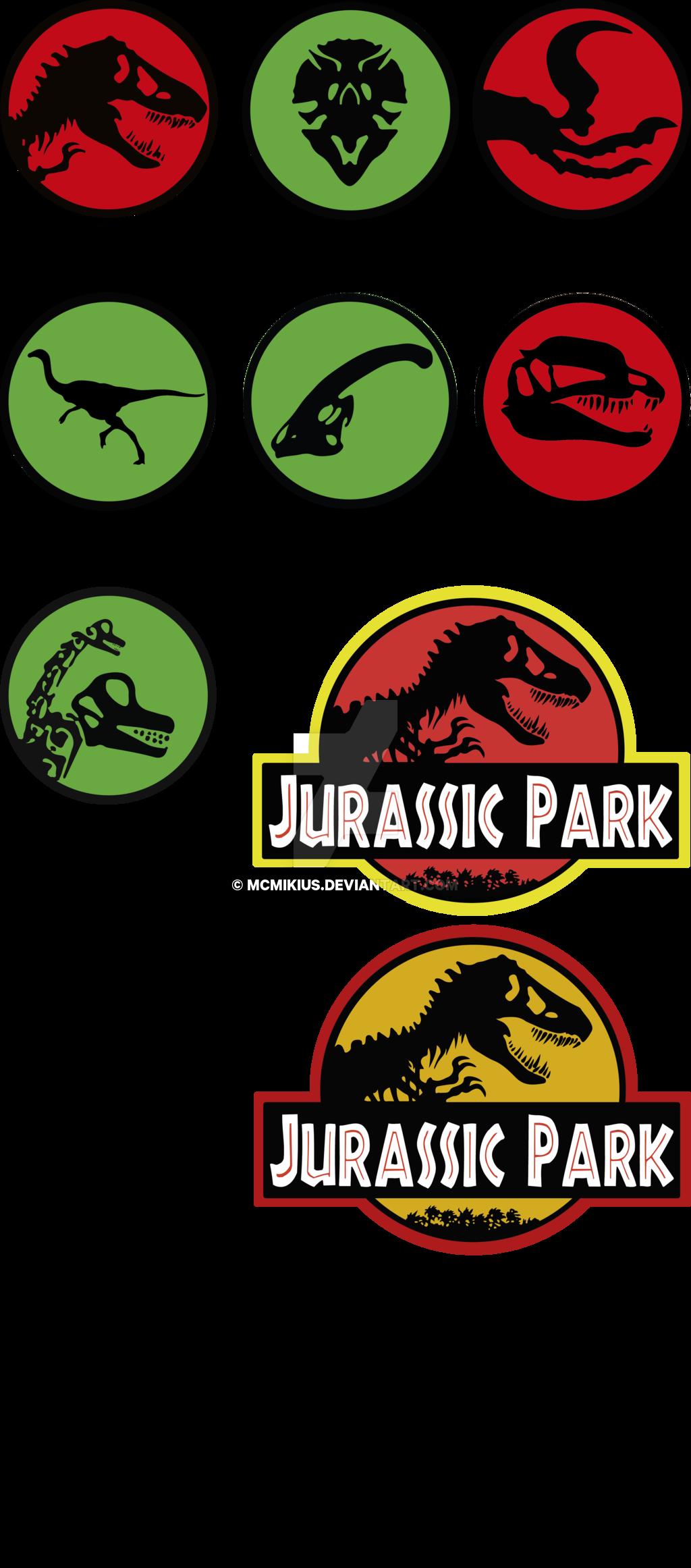Jurassic Park dinosaurus ver 2 by mcmikius.deviantart.com on @DeviantArt #jurassicparkworld