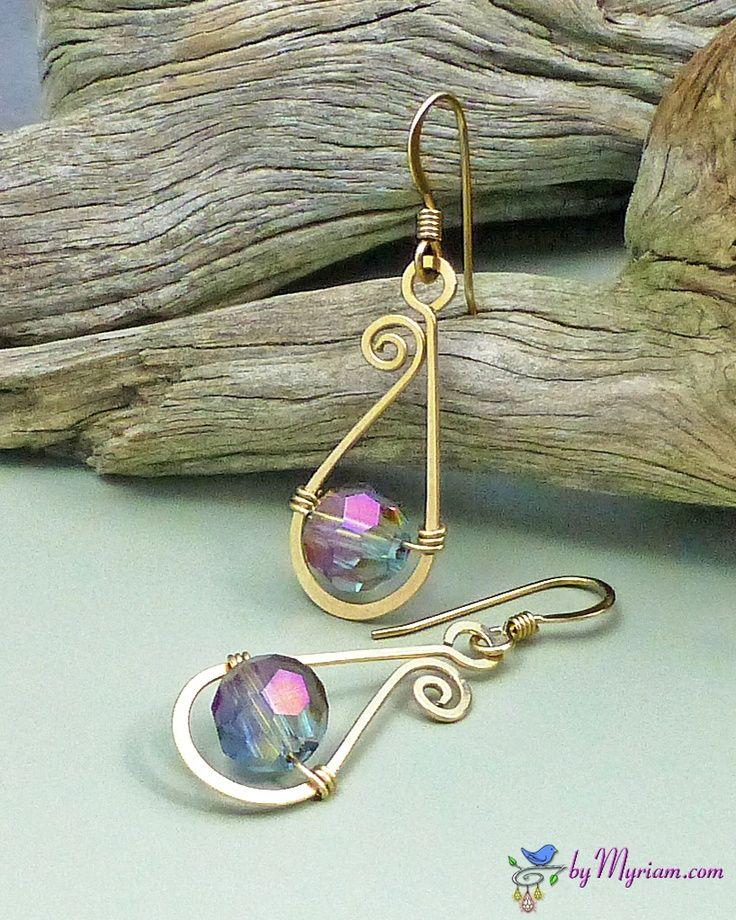 Easy Wire Earrings Bjcraftsupplies JewelryFindings Jewelry