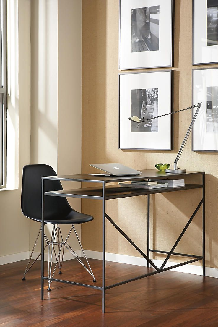 online drawers black computer table desk white small dark slim with office home skinny wood for long desks