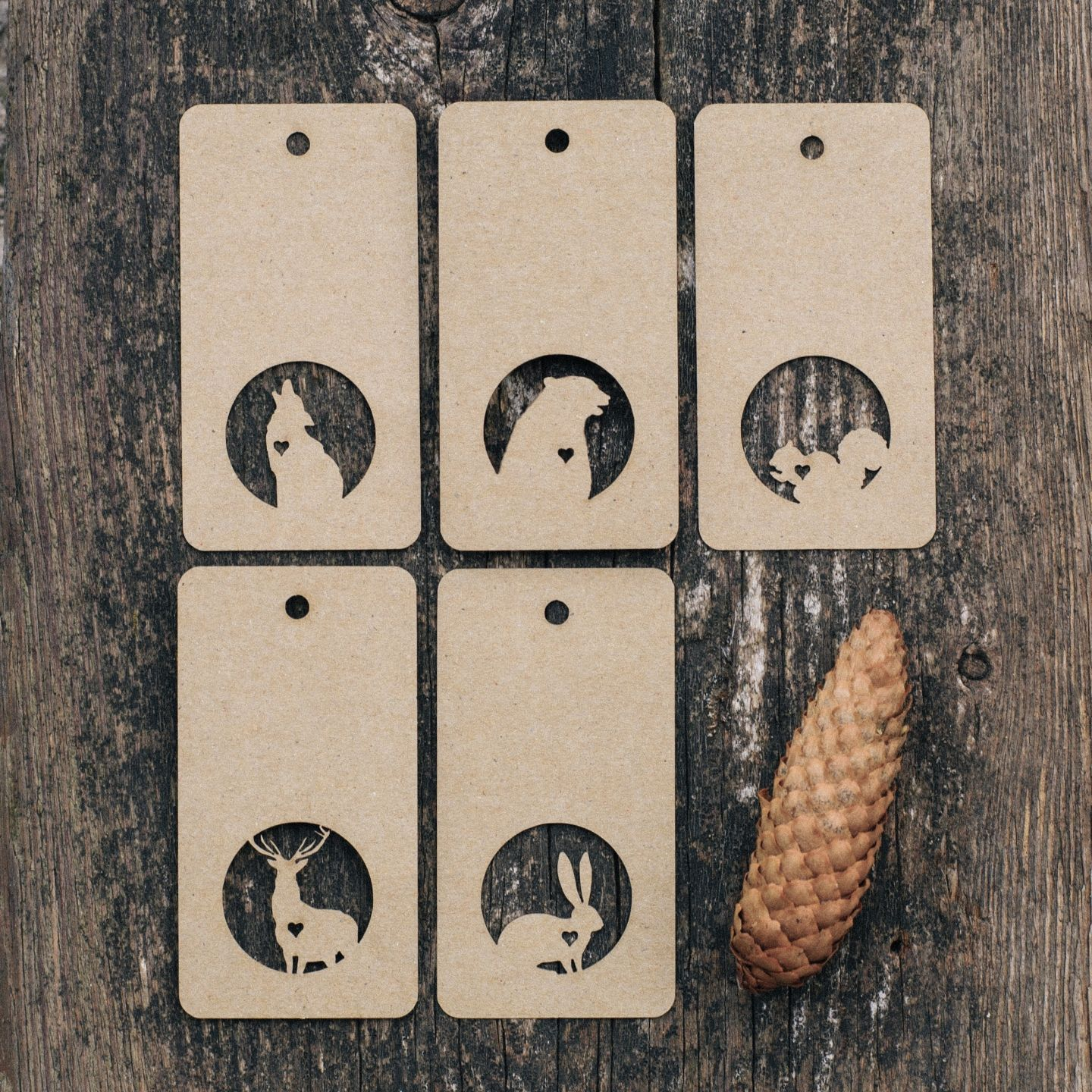 Loving Animals Tag Set | Under the tree (@lacyniqueromantique)