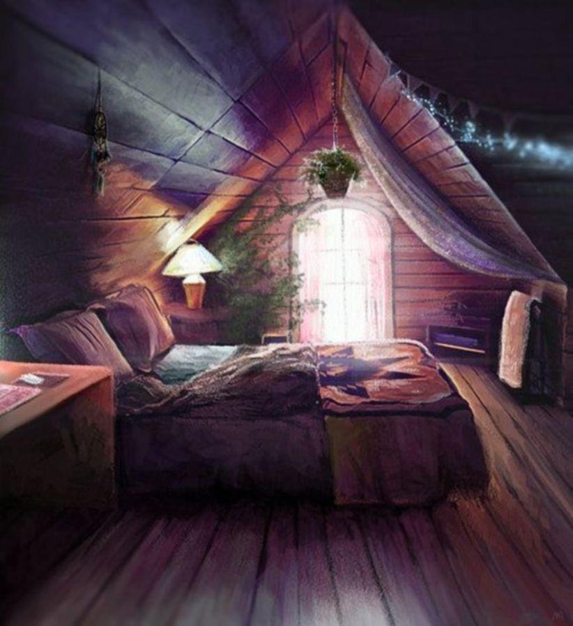 Romantic Boho Bedroom Decorating Ideas For Cozy Sleep 49 Attic Bedrooms Dream Bedroom Attic Rooms