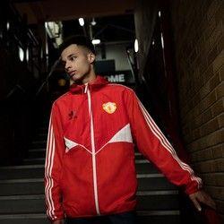 d52c324f240 Manchester United Originals Windbreaker - Red