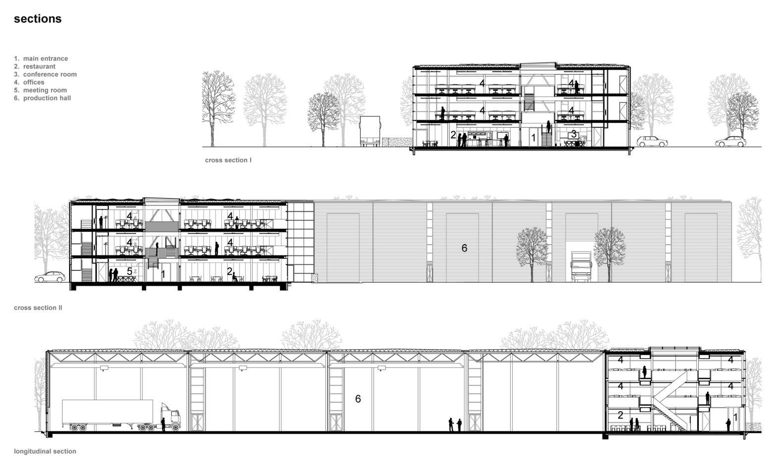 Gallery Of Lan Handling Technologies Office Building Cepezed 21 Office Building Building Building Section