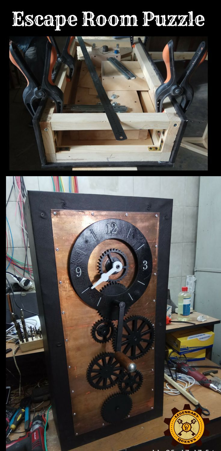 Escape room puzzle ideas buy riddle watches with gears
