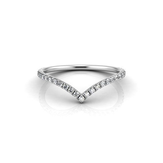 f909c3abe Option 3. Another v-shape ring design. It would have to fit flush to my  engagement ring though!