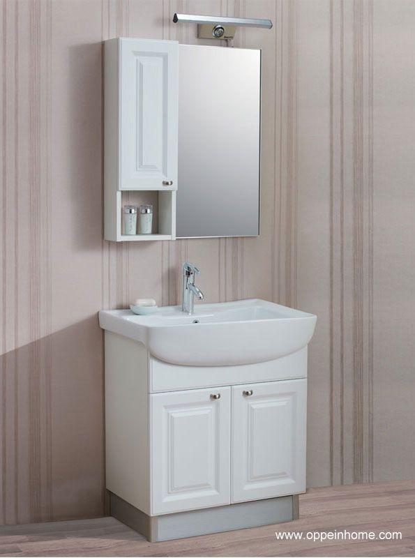 Foto de Gabinete de cuarto de baño blanco (W1158-75) en es ...
