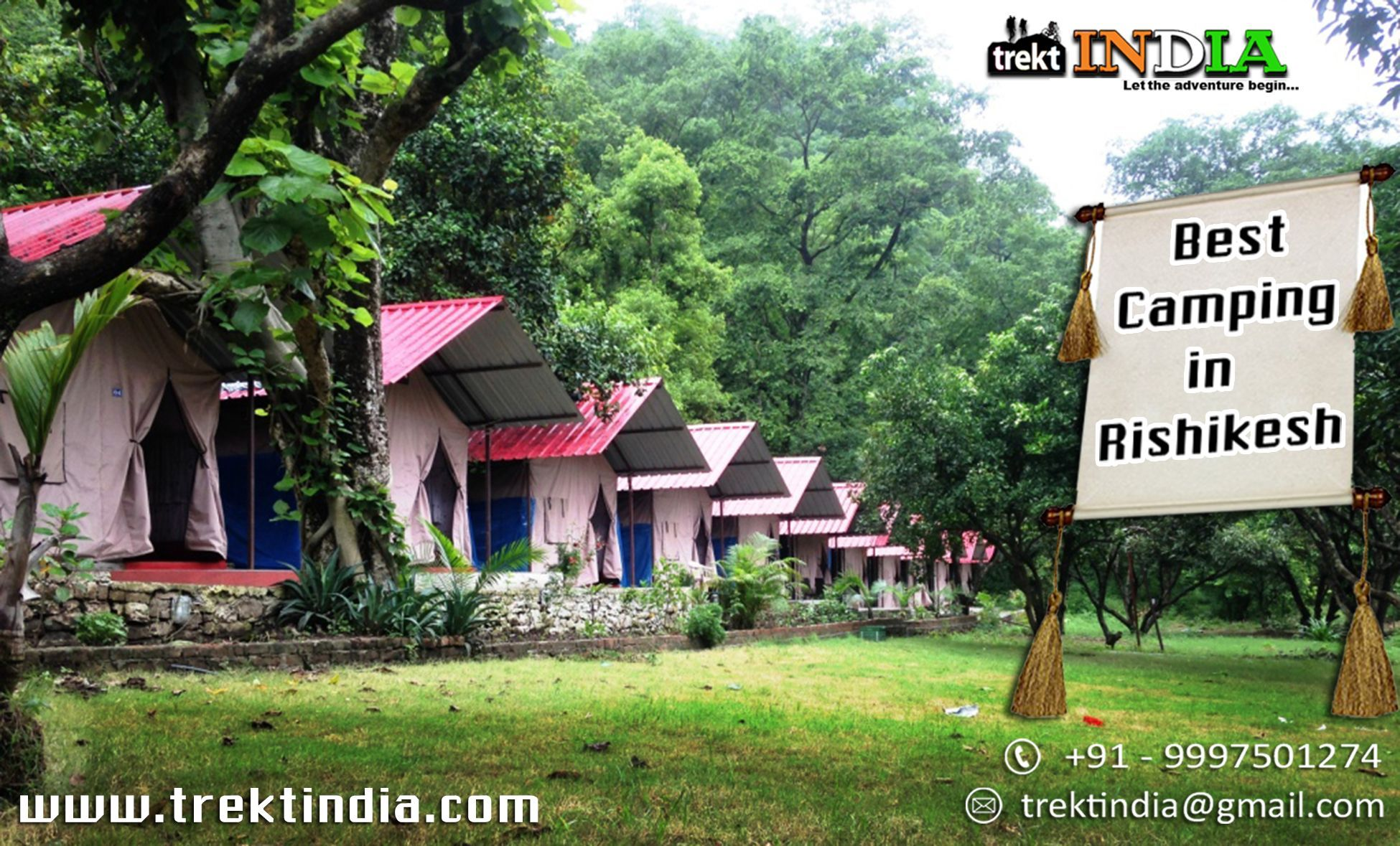 Camping In Rishikesh Camp 5 Elements Assures You An Enchanting Sight Of The Ganga At Set With Aim Understanding Nature