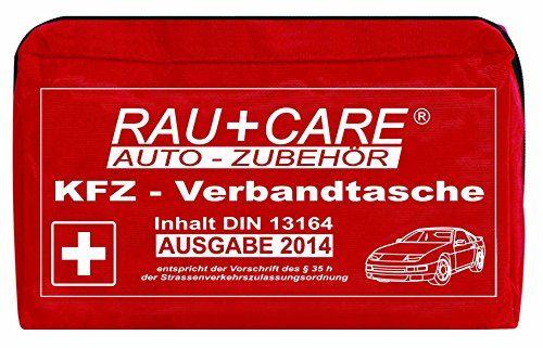 RFX + Care EH0004 KFZ-Verbandtasche rot, Inhalt nach DIN 13164 � 35h STVZO