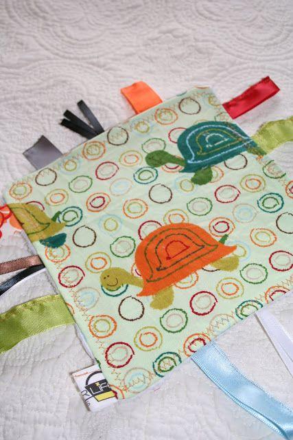 Baby Tag crinkle Blanket  1e6912823