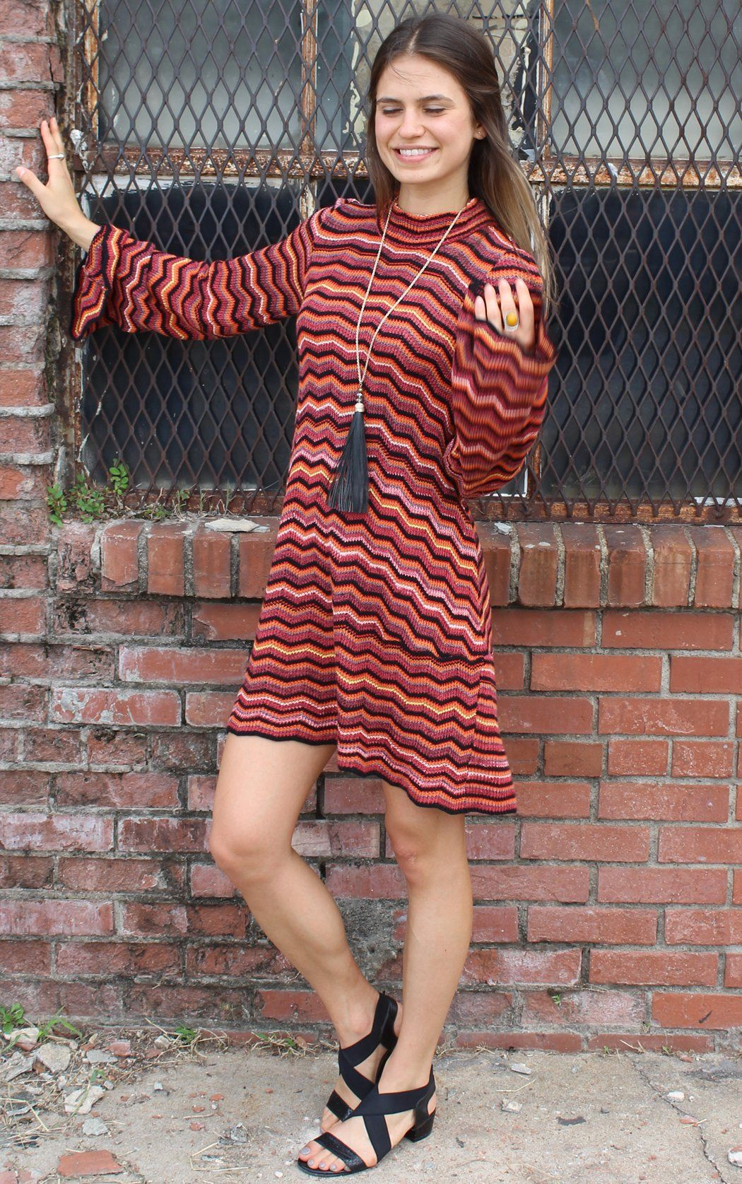 95a86eb717f Ziggy Sweater Tunic Dress - by Free People Mock turtle neck pullover  sweater dress with long