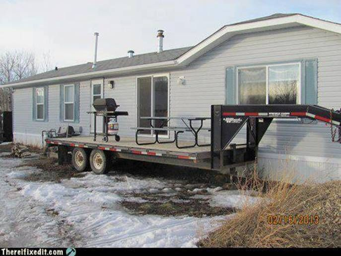 Red Neck Portable Deck