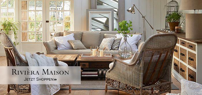 Rivièra Maison Möbel und Wohnaccessoires im Hamptons
