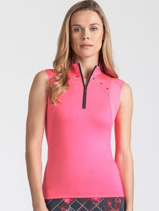 Check out what #lorisgolfshoppe has for your days on and off the golf course! Tail Ladies & Plus Size MELROSE AVENUE Rosalin Sleeveless Golf Tops - Melrose