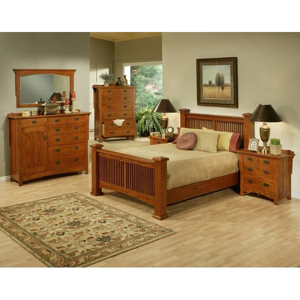 AYCA Furniture Heartland Manor Slat Panel Bed