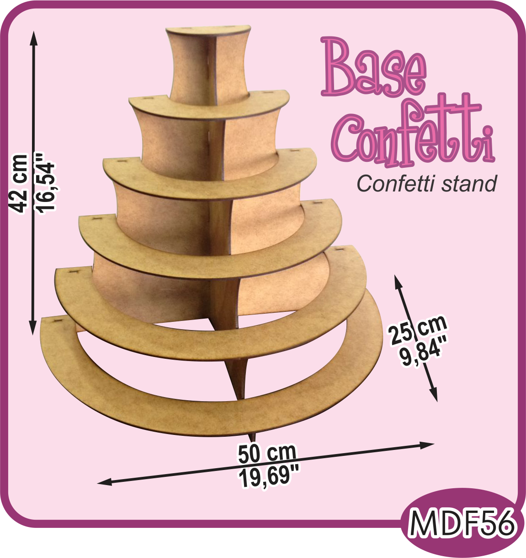 base de 6 niveles para su mesa de dulces 6 leves stand. Black Bedroom Furniture Sets. Home Design Ideas