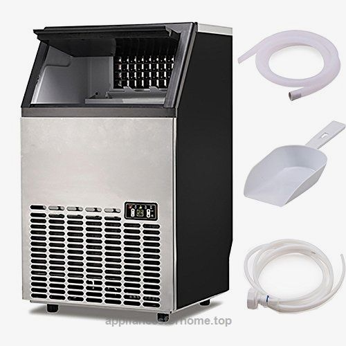 Portable Commercial Ice Cube Maker Machine Home Bar Bbq Party Restaurant 400w Check It Out Now 708 00 Specification Overall Dimension Rox