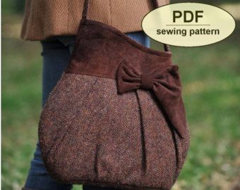 New: Sewing pattern to make the Titchwell Bag PDF by charliesaunt