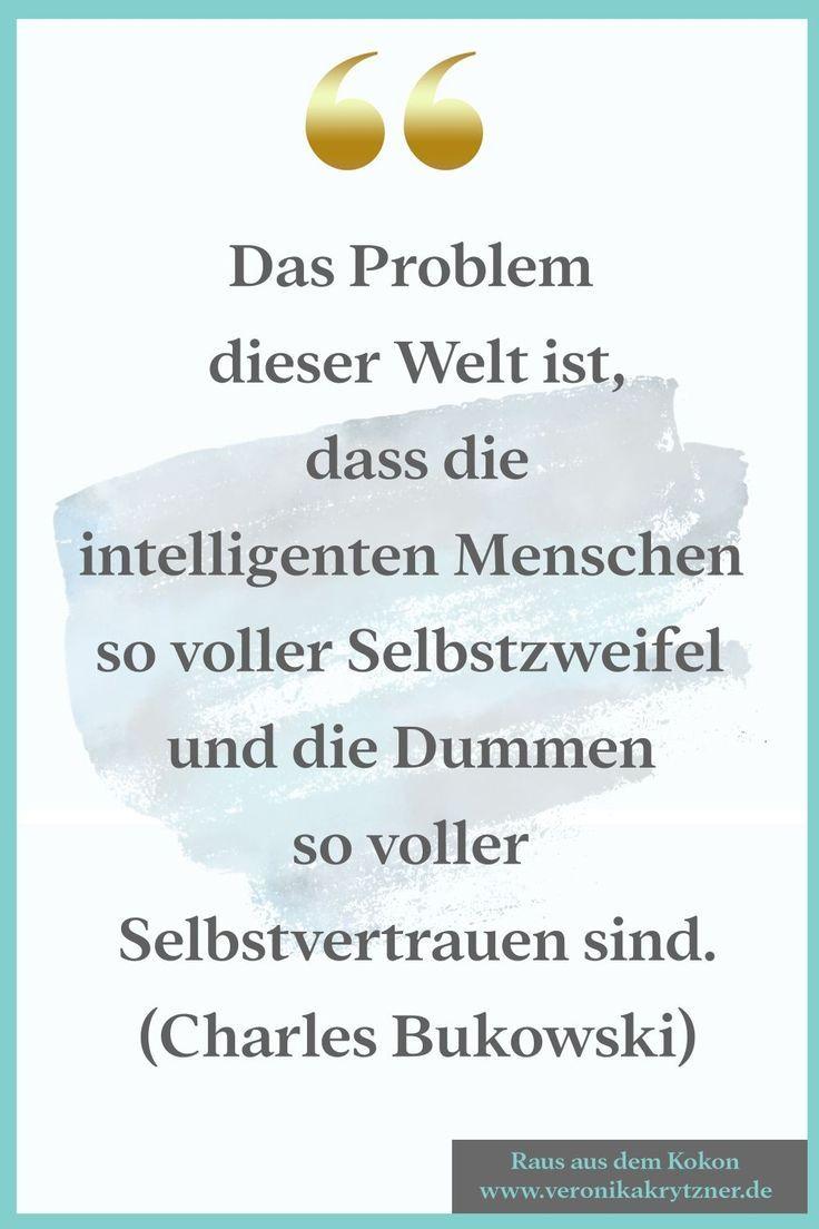 50 Zitate zum Thema Selbstzweifel – Raus aus dem Kokon!