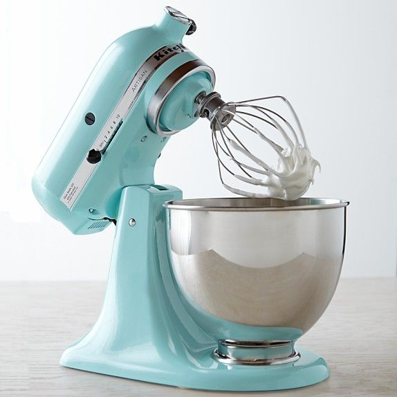 KitchenAid Artisan Stand Mixer, Aqua Sky. (I Saw This Color In Store And  Was Transfixed... WANT.)