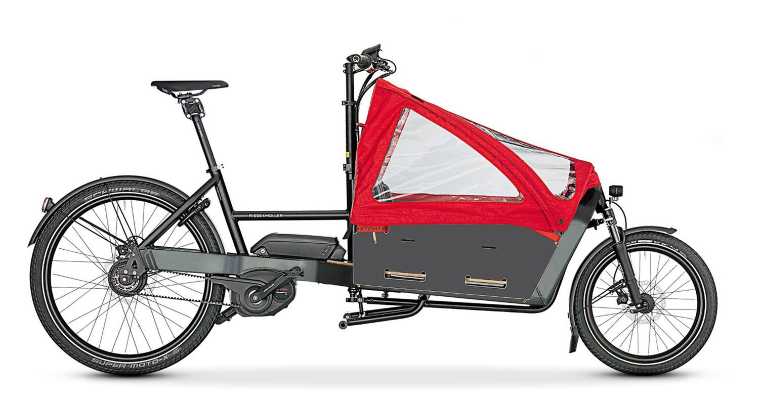 Riese And Muller Packster 60 80 Electric Cargo Bike Cargo Bike