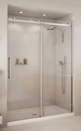 PORTE COULISSANTE HALO Code BMR  034-6072 Idées salle de bain - installer un cadre de porte