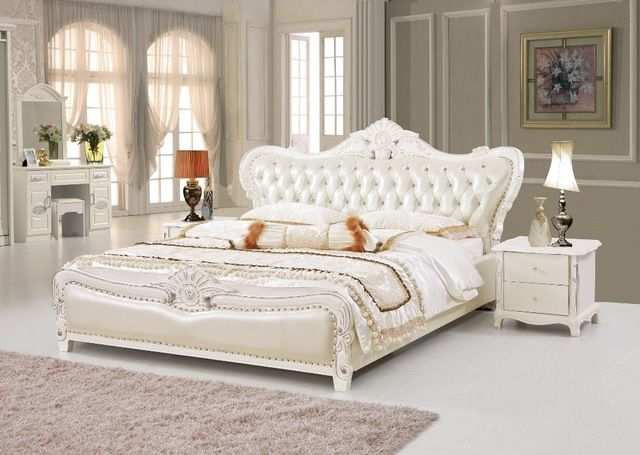 2485 0us The Modern Designer Leather Soft Bed Large Double Bedroom Furniture American Style Double Bedroom Furniture Soft Bedbed Design Aliexpress Furniture White Bed Frame Bedroom Furniture