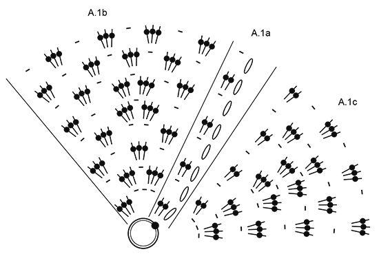 """In Treble - El conjunto se compone de: Gorro y cuello a ganchillo DROPS con grupos de p.a. en """"Big Delight"""". - Free pattern by DROPS Design"""