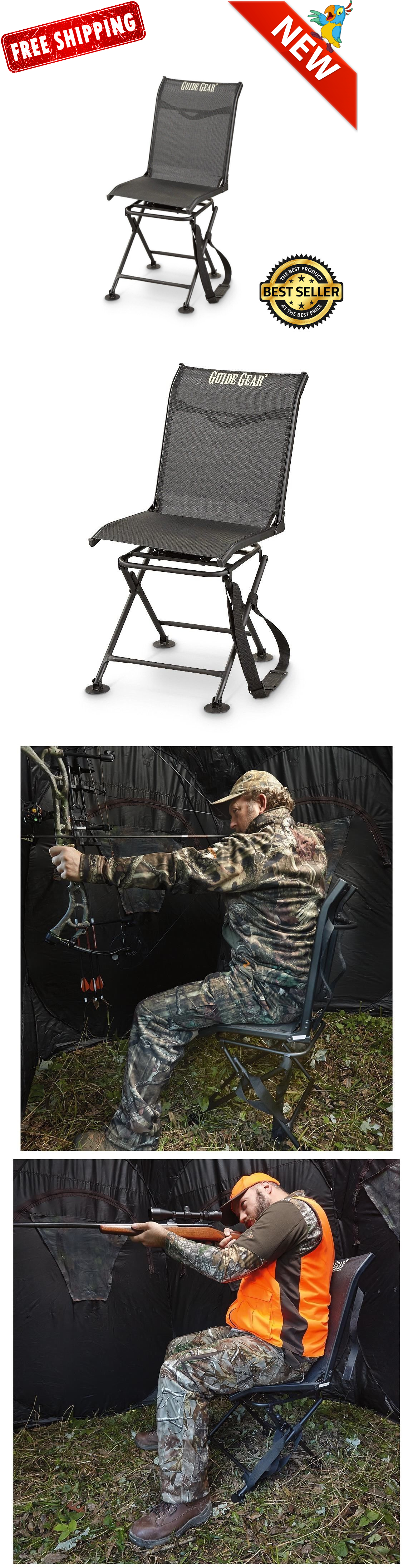 Seats and Chairs Hunting Blind Chair Swivel 360 Degree