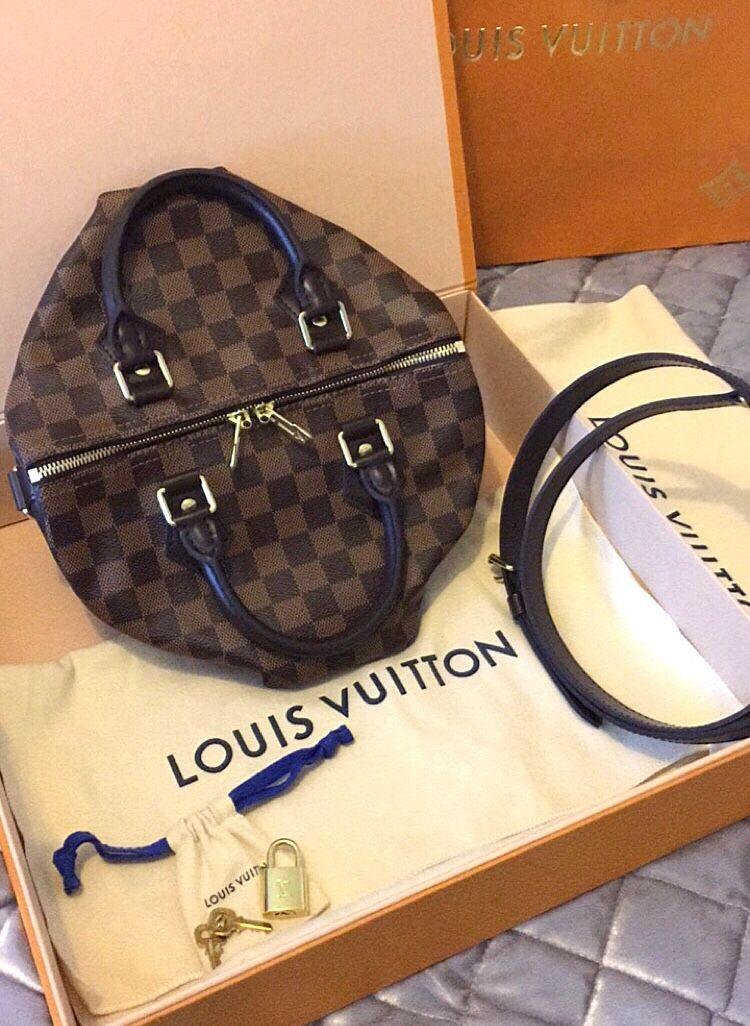 1b2e01ec2c09 My new Speedy B 25 Louis Vuitton speedy bandouliere 25 speedyb25 Damier  ebene speedy25 LouisVuitton