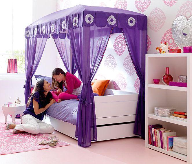 Decora hogar el encanto de las camas con dosel fotograf as cam camas con dosel - Doseles para camas ...