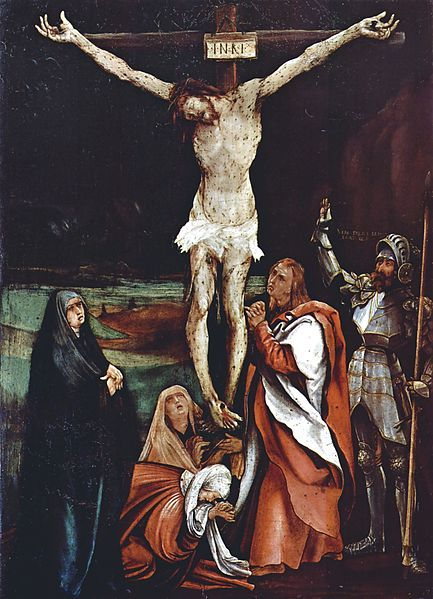 Grunewald - Crucifixion in the Kunstmuseum Basel..