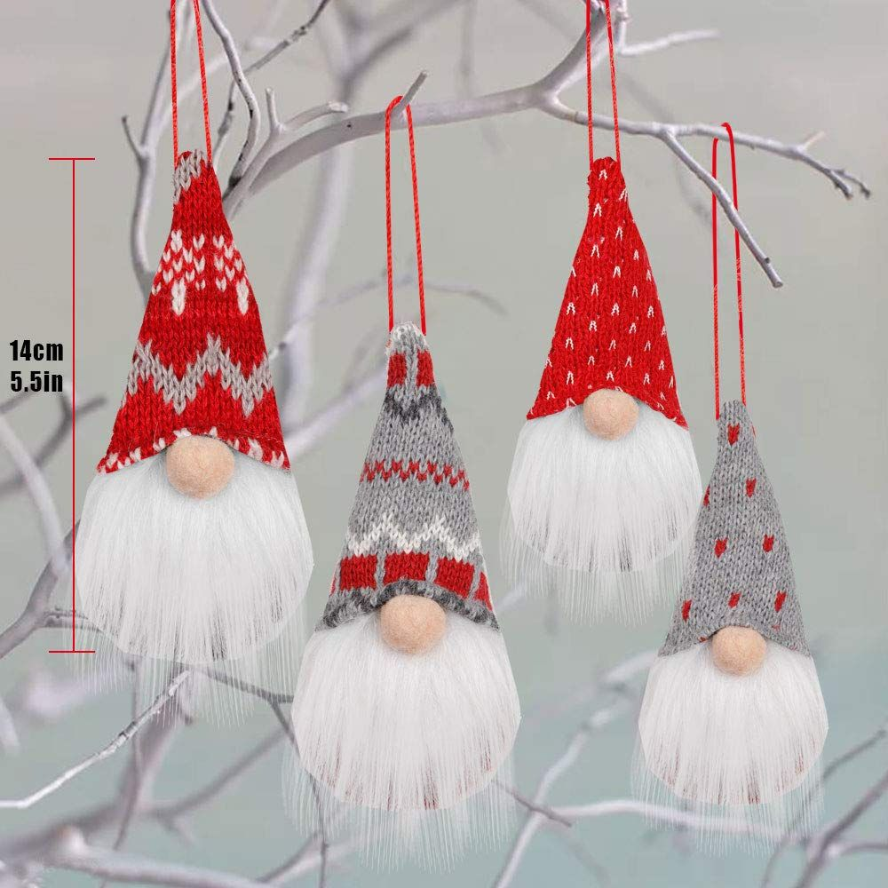 Handmade Santa 5inch Christmas Tree Decoration