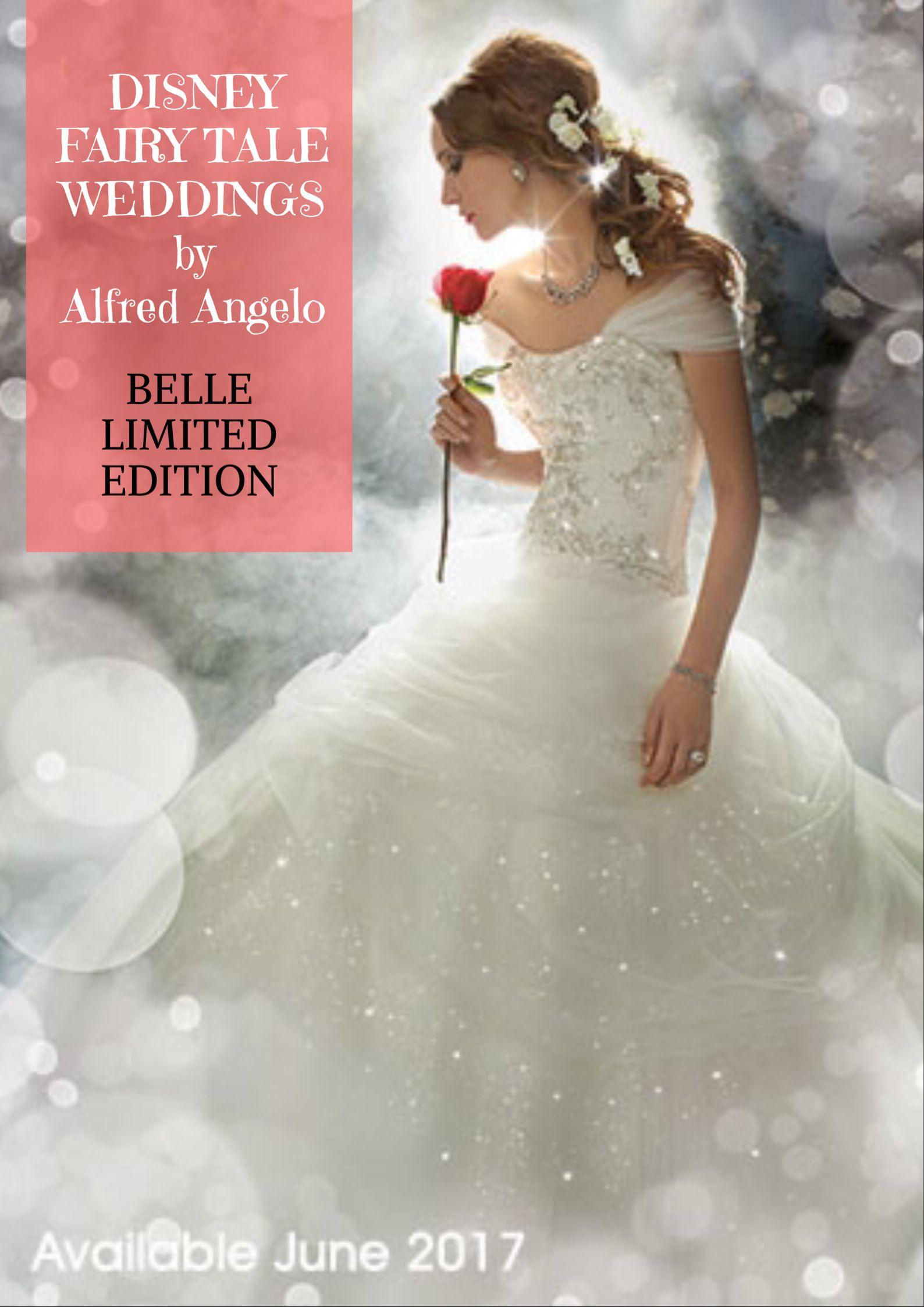 Disney Princess Belle wedding dress design for 2017--Limited Edition ...