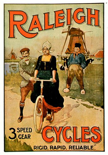 Raleigh Cycles Advert | Classic Bikes | Vintage advertising