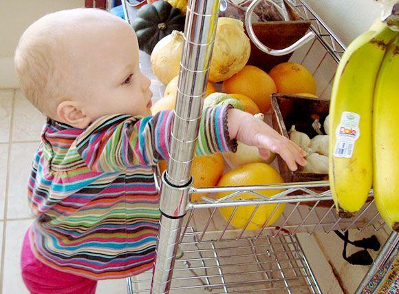 La alimentación del bebé en verano, en www.nonabox.com