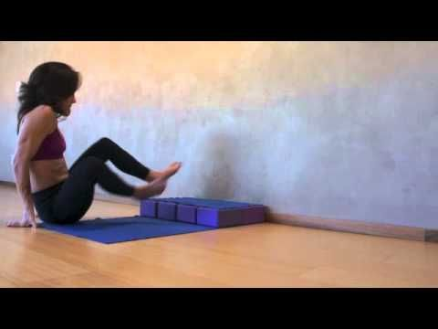 yoga tips with christina sell  a tip for getting up in