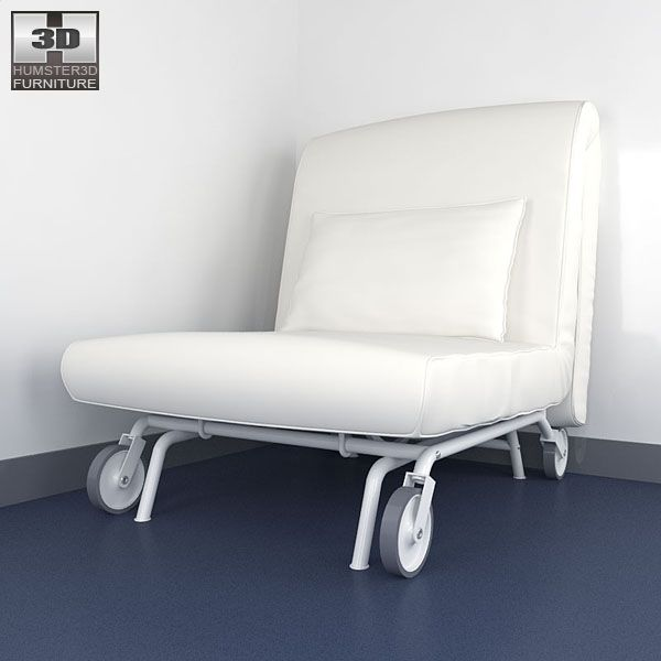 3d model of ikea ps lovas chair-bed | home decorating ideas