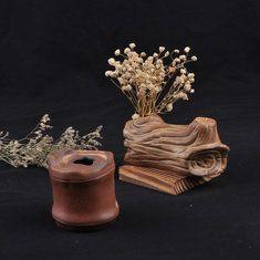 Zakkz jarrón de cerámica de artesanía creativa del equipamiento Aroma Botella arreglo de flores regalo de la decoración de la cerámica